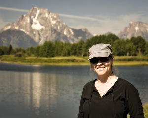 Mia in Grand Tetons National Park
