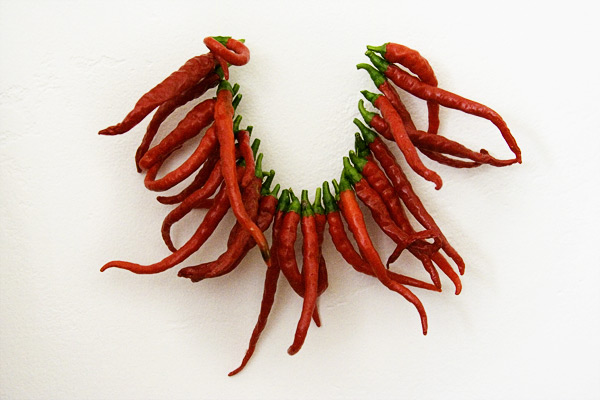 drying cayenne peppers