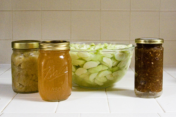 Preserving crab apples