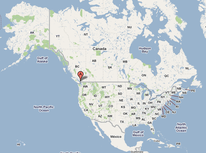Vancouver Canada On World Map Where in the World? Vancouver, British Columbia, Canada | The Big